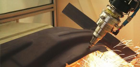 3D-Laserschneidanlage Jenoptik-Votan BIM