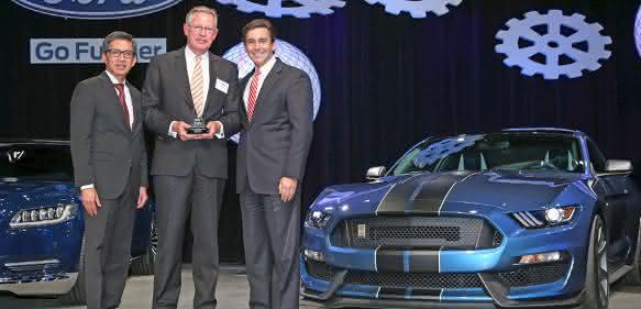 Kiekert Ford World Excellence Award 2015
