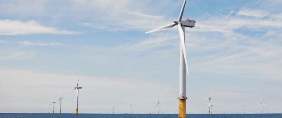 Siemens Windpark Gwynt y Mor