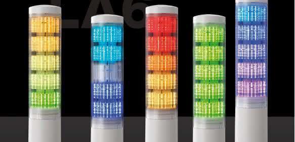 Patlite Signalturm große Farbvielfalt