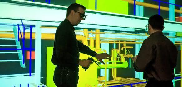 Virtuelle Anlagenplanung im VDC Fellbach