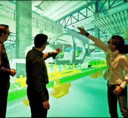 Virtuelle Produktionsplanung im VDC Fellbach