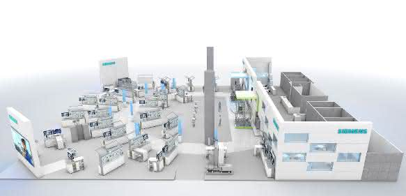 Siemens zeigtLösungen für die Prozessindustrie
