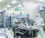 Flüssigkristall-Produktion