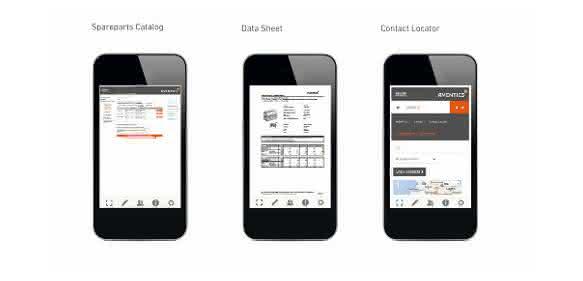App PN-QR-Info von Aventics