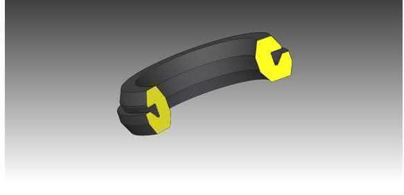 Kabeldurchführung in EPDM-Qualität
