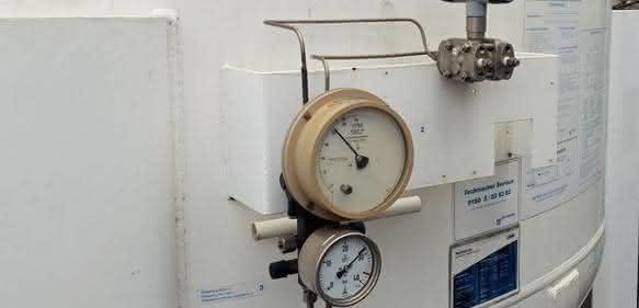 Stickstofftanks überwachen