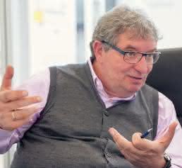 Dirk Wember, Geschäftsführer von Haas Schleifmaschinen