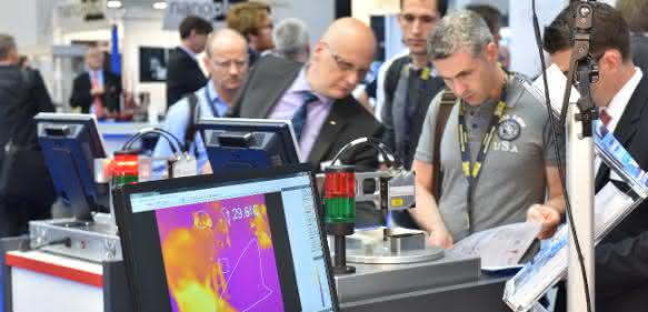 Messe Sensor+Test 2015 in Nürnberg