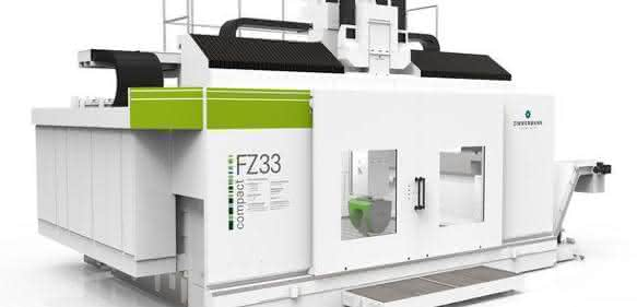 Portalfräsmaschine FZ33 compact