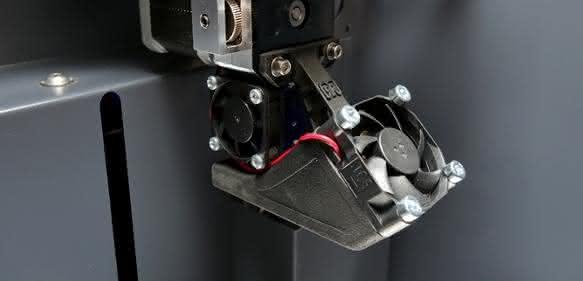 DD3 Extruder Technologie im 3D Drucker X350