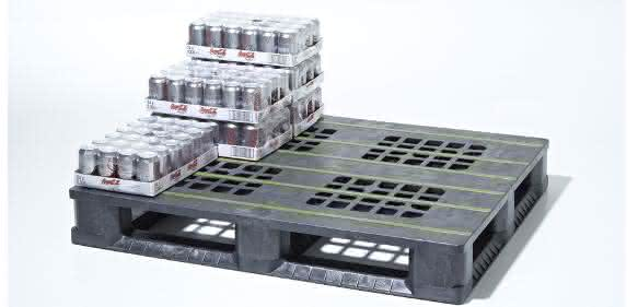 Cabka Kunststoffpalette Getränke