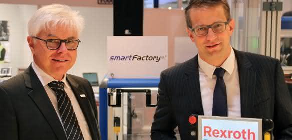 Kooperation Industrie 4.0 - Prof. Detlef Zühlke und Thomas Bürger