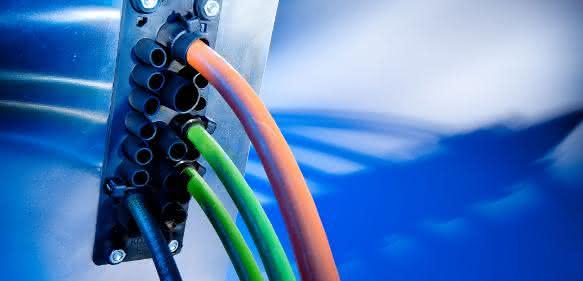 Kabeldurchführung KDP/F von Murrplastik Systemtechnik