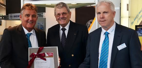 DGQ-Ehrenurkunde für 25-jährige Mitgliedschaft für Mayr Antriebstechnik