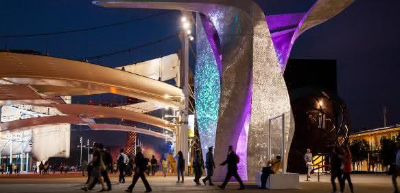 Siemens auf der Expo 2015