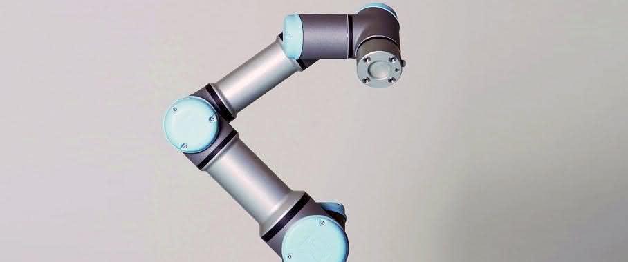Automatisierung: Kollaborierender Roboter im Einsatz