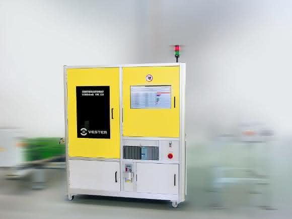 Prüf- und Sortierautomaten Video Check VVC120