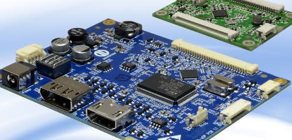 TFT-Controllerboard PrismaEco-eDP von Distec