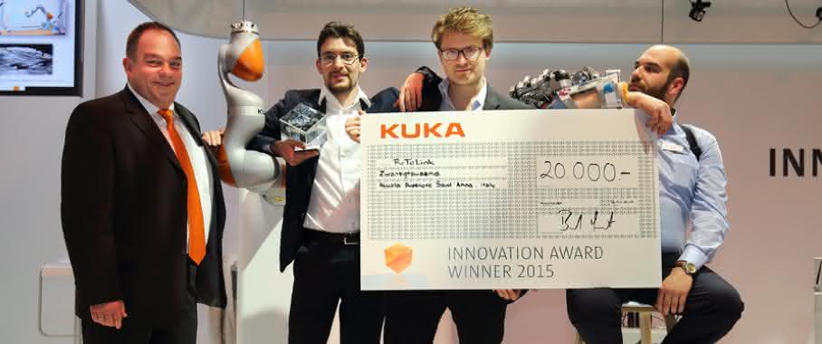 Sieger des Kuka Innovation Award