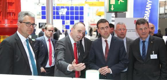 Dr. Nils Schmid bei SEW Eurodrive