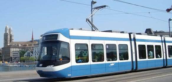 Cobra-Tramwagen in Zürich