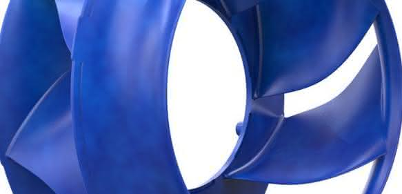 Neuer Radialventilator von Ziehl-Abegg: Laufrad ZAV Blue