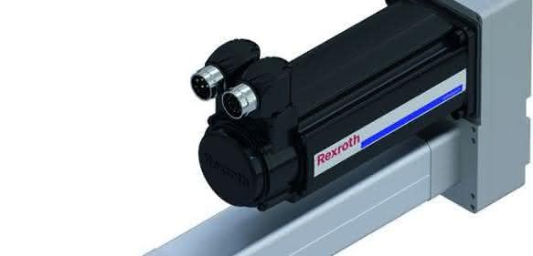 Elektromechanischer Zylinder EMC von Bosch Rexroth