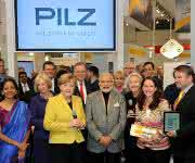 HMI Messerundgang mit Angela Merkel