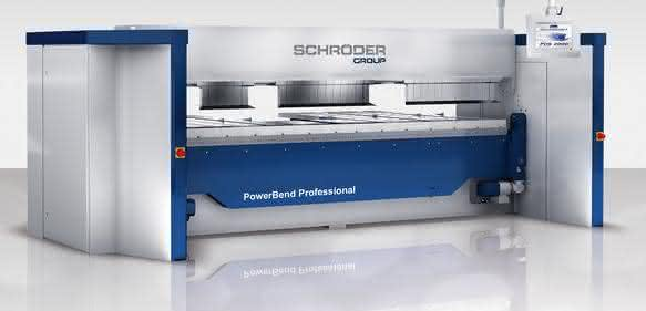 Schwenkbiegemaschine Power Bend Professional von Schroeder Group