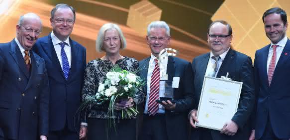 Preisübergabe Hermes Award 2015