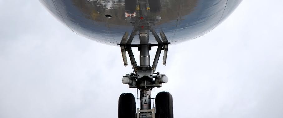 Stahl im Flugzeug