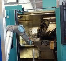 Roboter bei Fries Maschinenbau