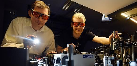 Prof. Dr. Bratschitsch und Dr. de Vasconcellos