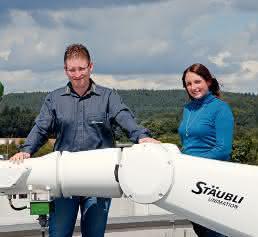 Dennis Dispot und Sarah Fritz