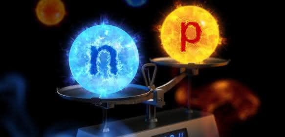 Neutron und Proton