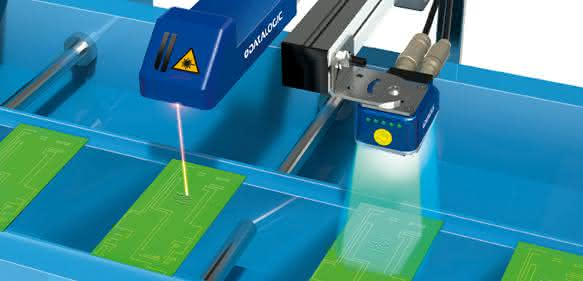 Laser Kennzeichnung mit AREX
