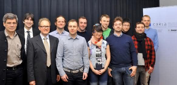 Team des Forschungslabors CaRLa in Heidelberg: BASF und Universität Heidelberg verlängern Forschungskooperation