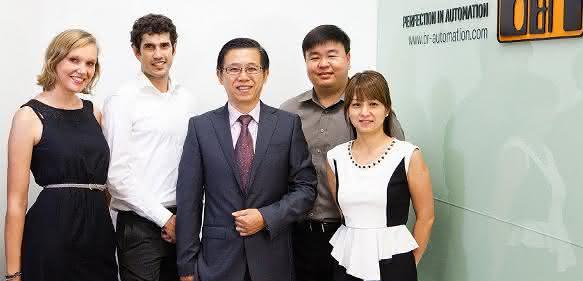 Das Team von B&R Singapur