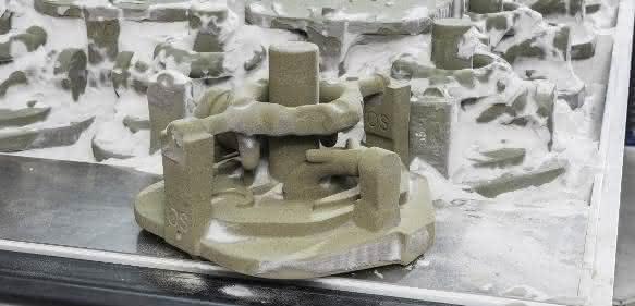 Gusskerne mit 3D-Druckern hergestellt