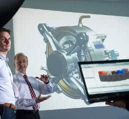 Siemens Elektromotor für Flugzeuge