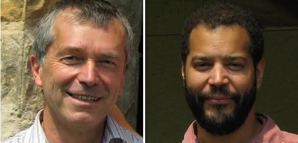 Prof. Dr. Stephan Koch (links) und Prof. Dr. Mackillo Kira