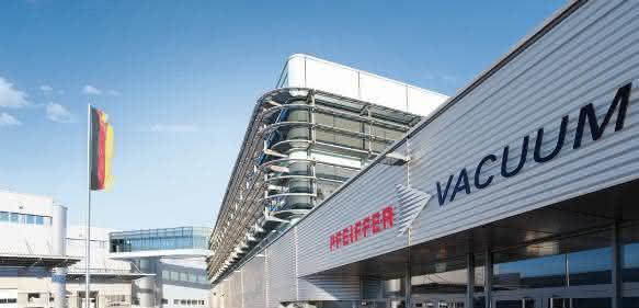 Pfeiffer Vacuum Firmenzentrale