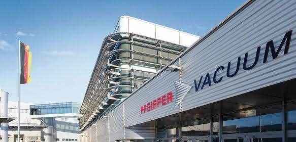 Firmenzentrale von Pfeiffer Vacuum