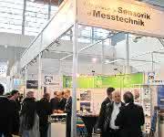 Messestand des AMA Verband für Sensorik und Messtechnik