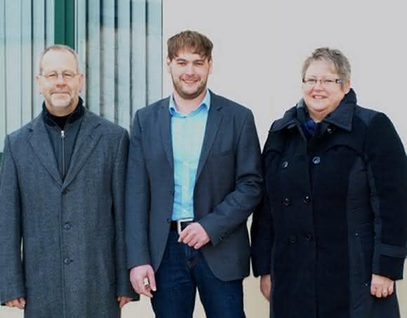 Ralf Grübel, Marco Schülken und Susanne Grübel