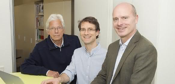 Prof. Dr. Michael Ludwig, Privatdozent Dr. Heiko Reutter und Prof. Dr. Markus Nöthen