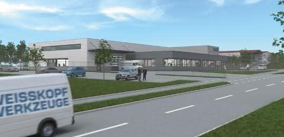 Geplanter Neubau bei Weisskopf