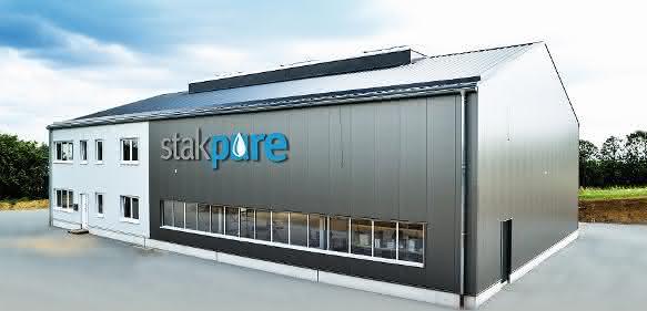 Firmengebäude der Firma stakpure