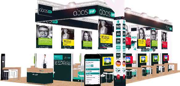 Abas Messestand
